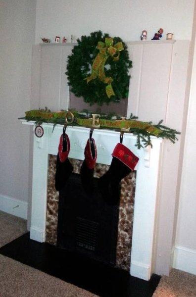 vestito camino LR per Natale