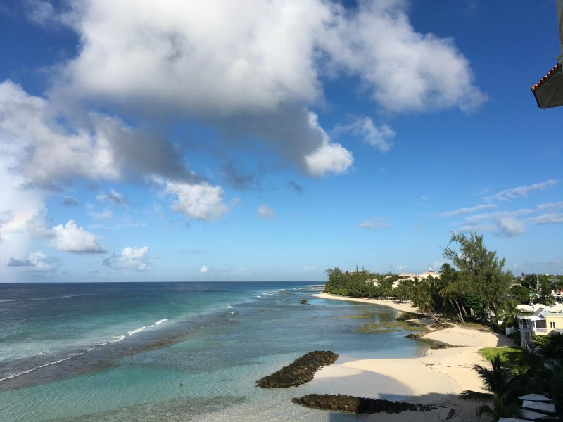 Barbados Beach Front two Bedroom Apartment with Fantastic Views, vacation rental in Hastings