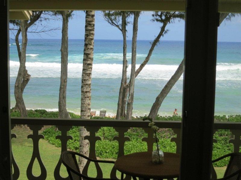 Kauai Kapaa #329 Oceanfront condo Vacation Rental condo by owner OCEAN !!, aluguéis de temporada em Kauai