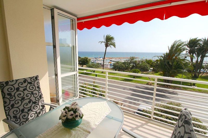 VDE-878 / Frontline beach apartment, vacation rental in Mil Palmeras