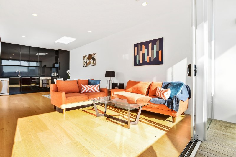 Spacious Apartment Next to Victoria Park and walking distance to Wynyard Quarter – semesterbostad i Auckland