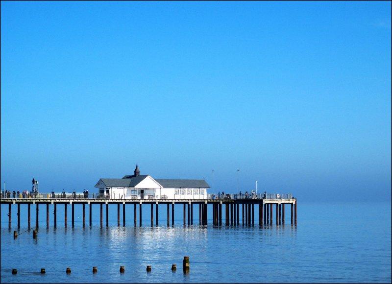Pier Southwold. Copyright Nick Catlin