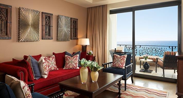 Cada habitación tiene una vista al mar