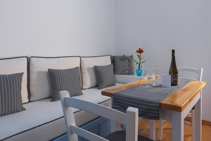 Deluxe Apartment with Private Balcony and Sea View A, holiday rental in Symi