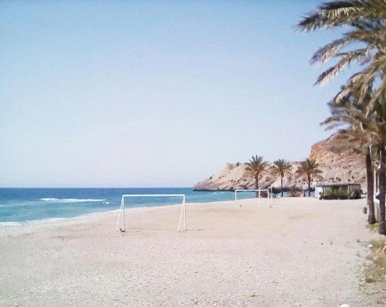 Playa de Castell de Ferro.
