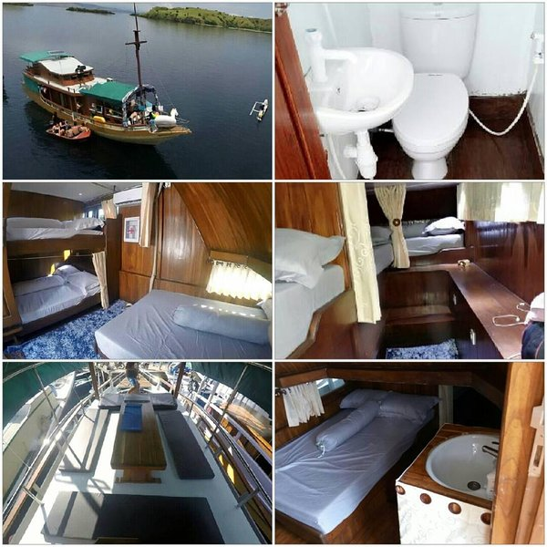 Komodo Marina Boat, holiday rental in Badjo