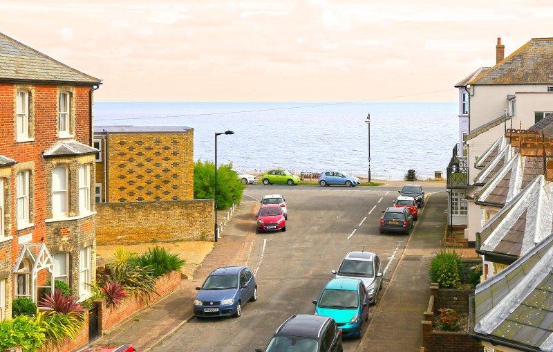 Vista dal salotto al mare