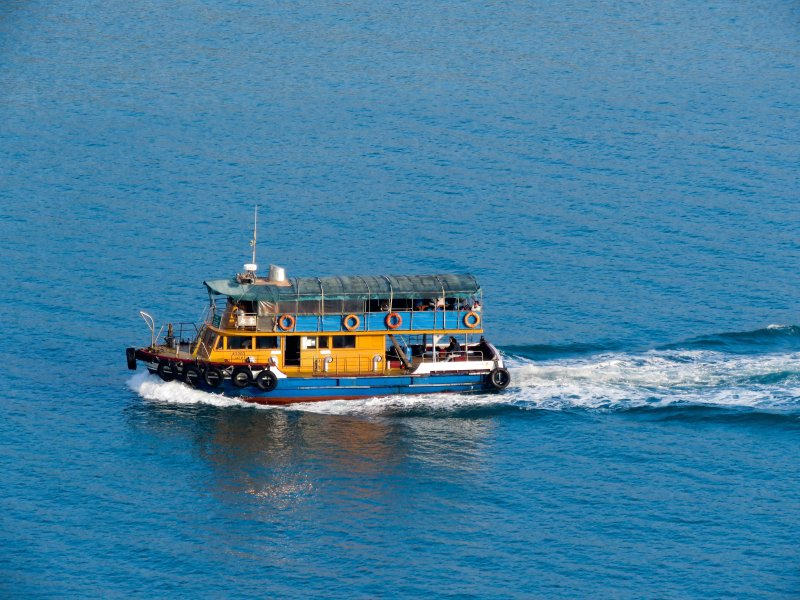 traghetto per Motat Wan, Lamma Island da Aberdeen