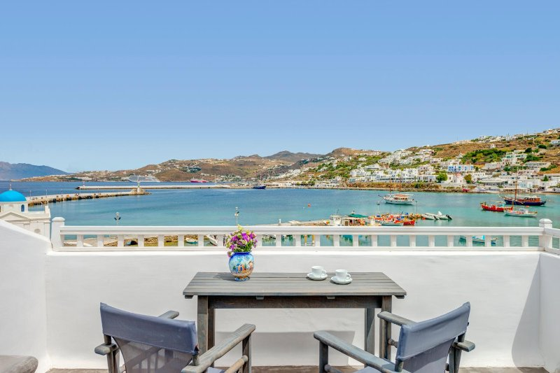 Studio at the city center with sea view !!!, vacation rental in Mykonos Town