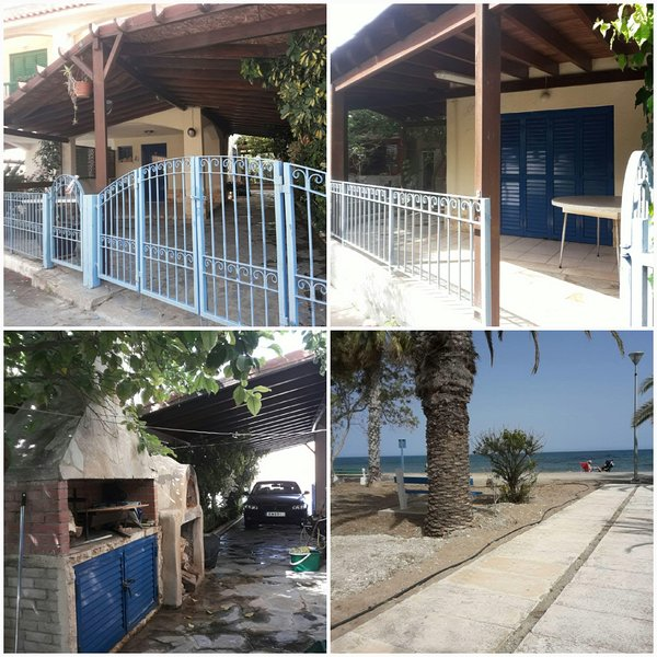 Marianna Family Beach House, holiday rental in Pervolia