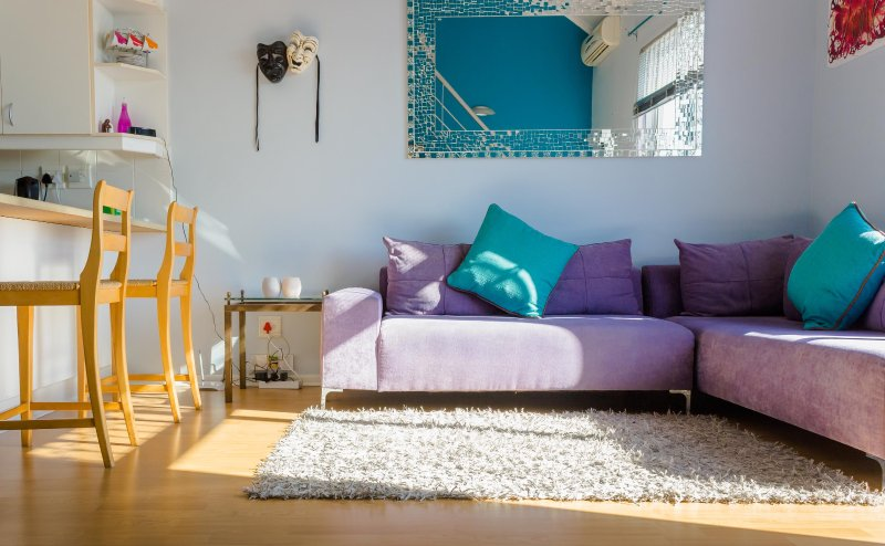 Cheerful, Central Loft Apartment in Gardens, holiday rental in Vredehoek