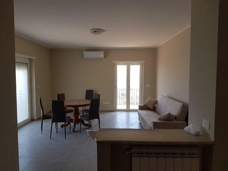 Villa panoramica, holiday rental in Vallecorsa