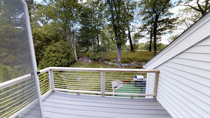 Deck from master suite