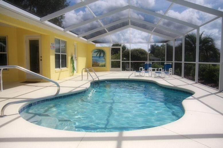 solar de la piscina climatizada