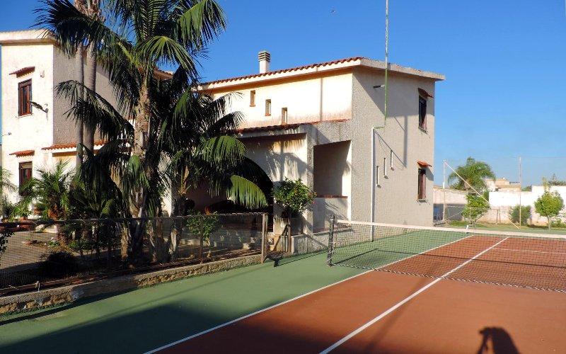 Villa avec court de tennis à Mazara del Vallo