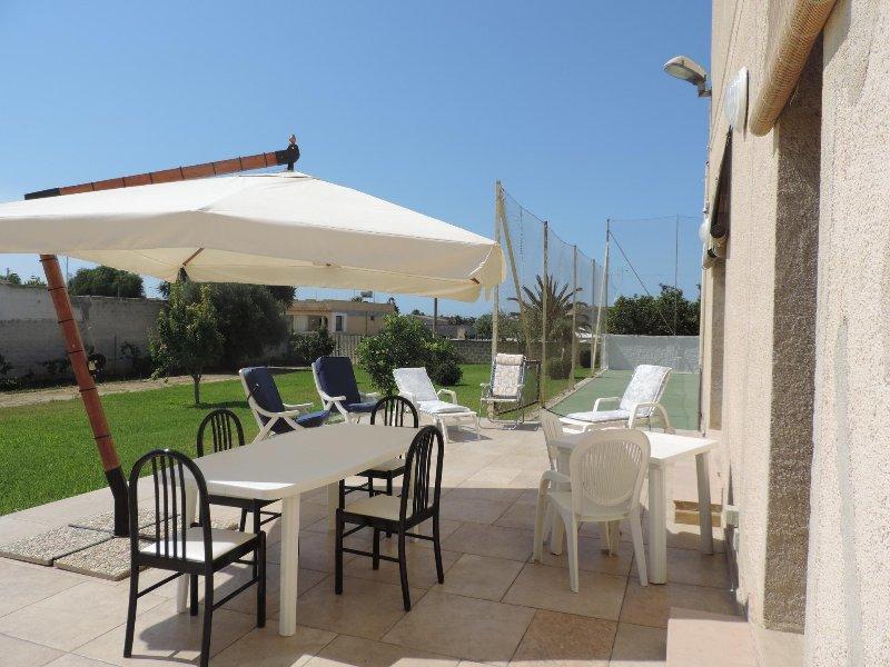 Villa with tennis court in Mazara del Vallo - Veranda
