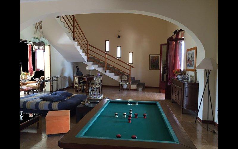 Villa with tennis court in Mazara del Vallo - Salon