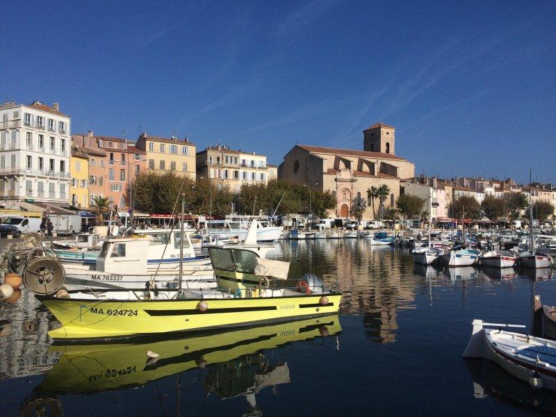 The port of Sanary