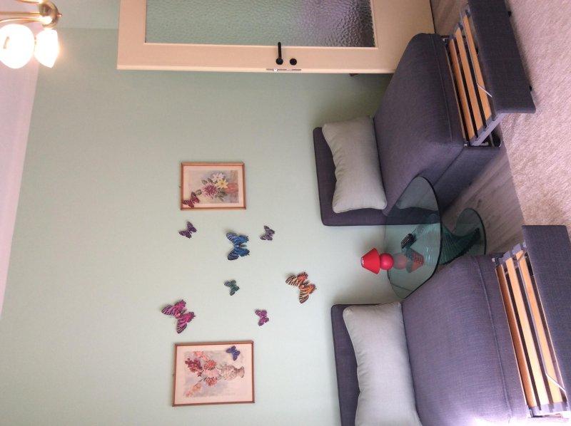 Affitto camera doppia con 2 letti singoli, holiday rental in Pra del Torno