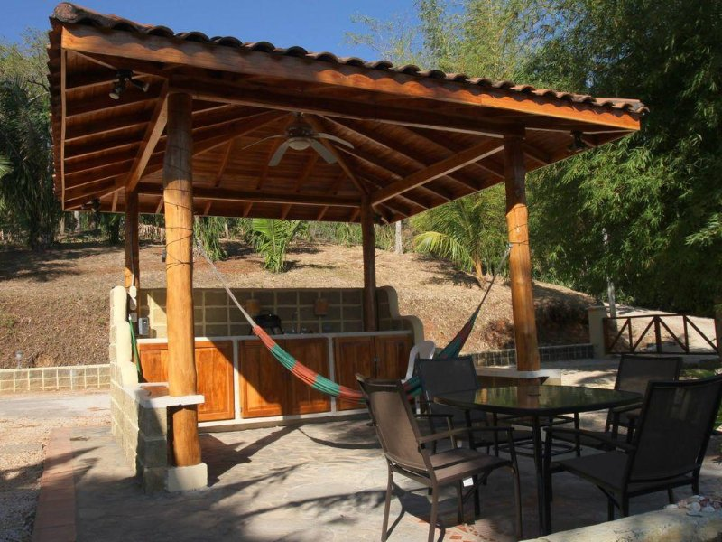 Poolside rancho