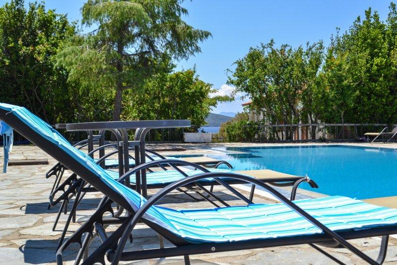 Villa Alba Chiara, holiday rental in Ouranoupoli