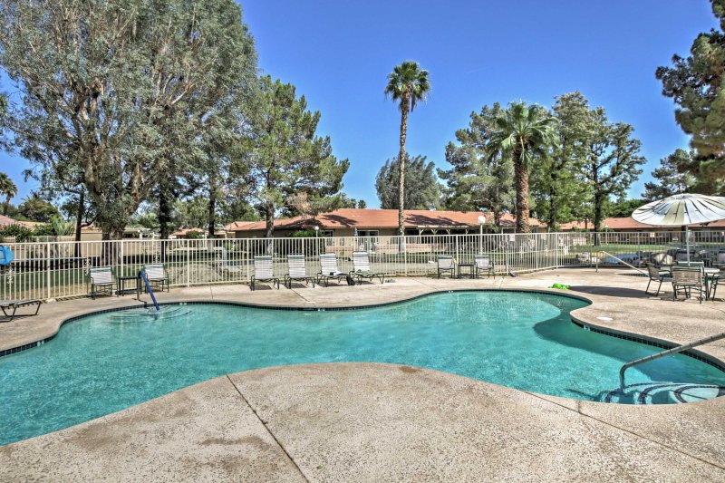 Aside from the pond, you will also enjoy access to this refreshing community swimming pool.
