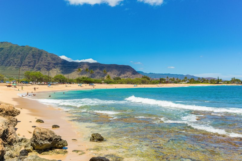 Gorgeous One Mile Long Makaha Beach Only 11 Houses To The North Great Surfing