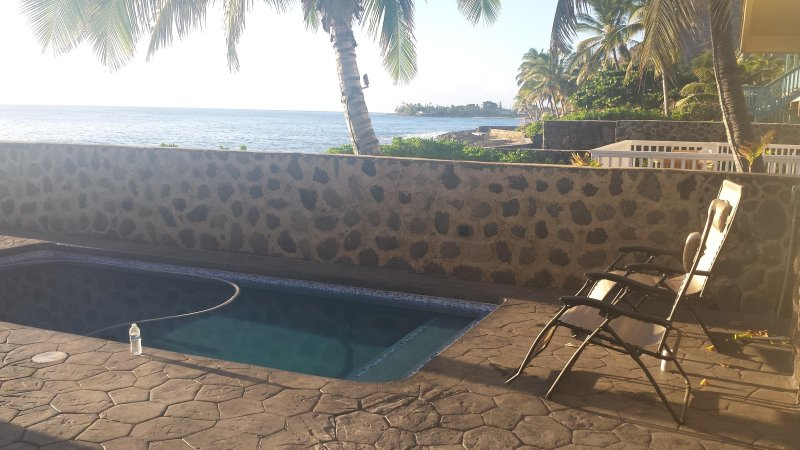 Swim in the pool or relax by the ocean the views are spectacular.