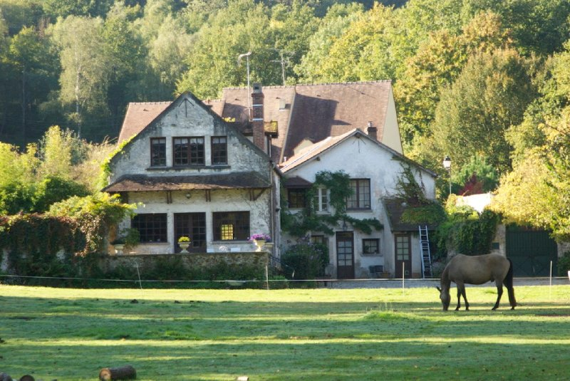 Villa rustique avec parc en Vallée de Chevreuse, aluguéis de temporada em Chevreuse