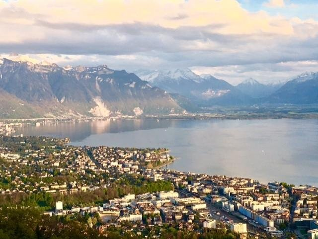 vista global Montreux Vevey