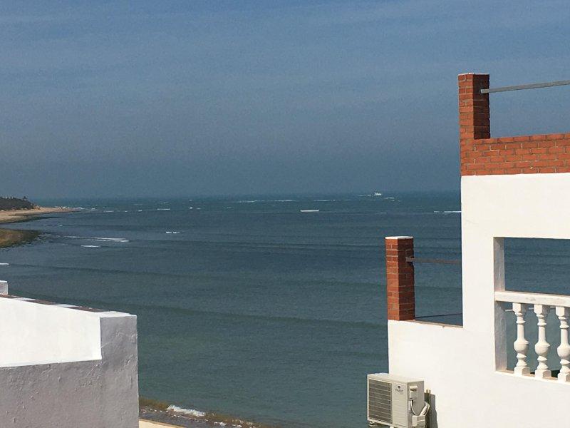 Chalet Calma direkt am Meer.