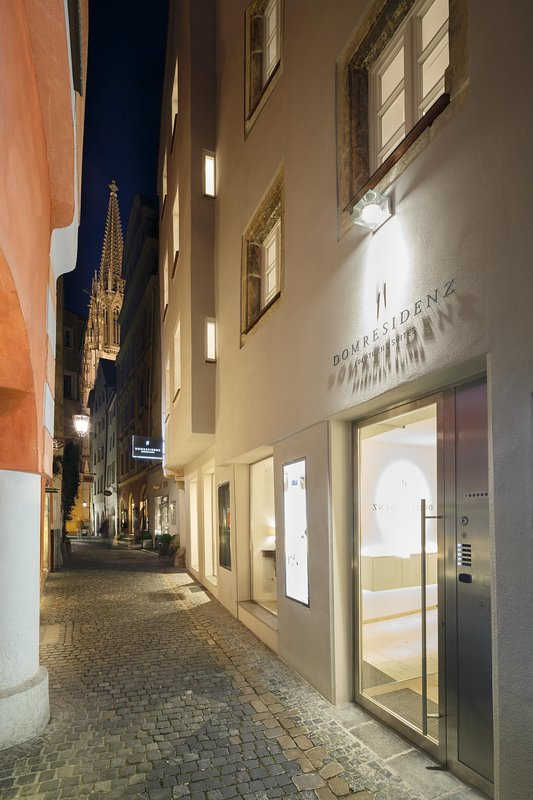 Just 80 meters from the cathedral in the heart of Regensburg