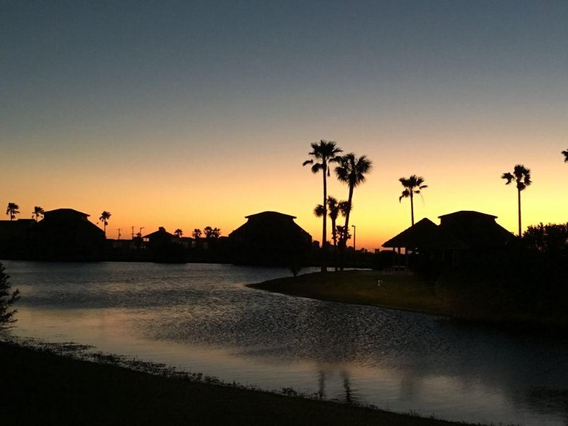 watch the most beautiful sunset from your deck across the catch & release lagoon