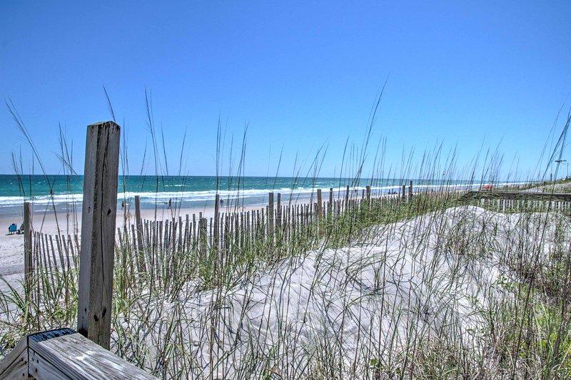 Évadez-vous vers un endroit calme, plage en Caroline du Nord pour vos prochaines vacances!