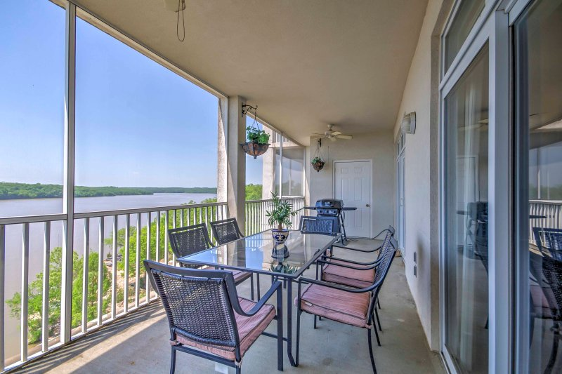 Experience the Ozarks and enjoy a lakefront destination when you stay at this Osage Beach vacation renal condo!