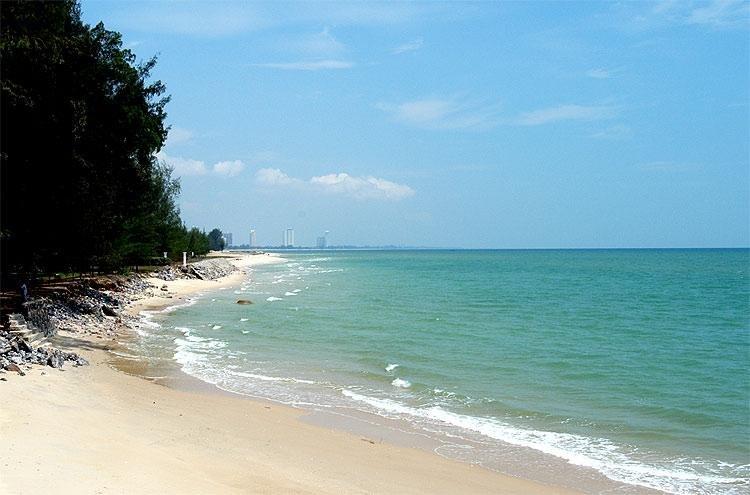 La playa está a pocos minutos