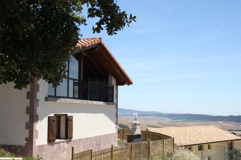 Casa rural Nazar, en Navarra, España, Ferienwohnung in Ollobarren