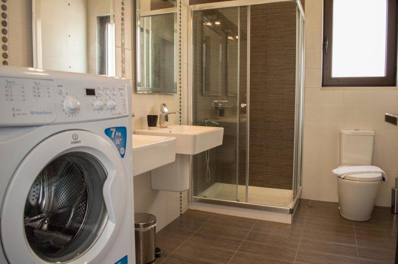 Banho # 3 com máquina de lavar