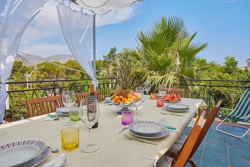 Casa Addaura a 100 mt dal mare di Addaura/Mondello, holiday rental in Mondello