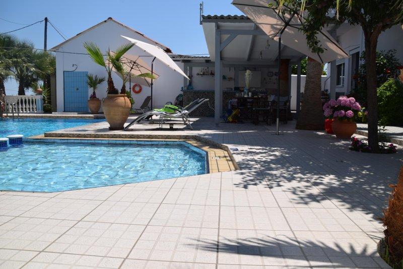Blue&white apartments, alquiler de vacaciones en Kamisiana