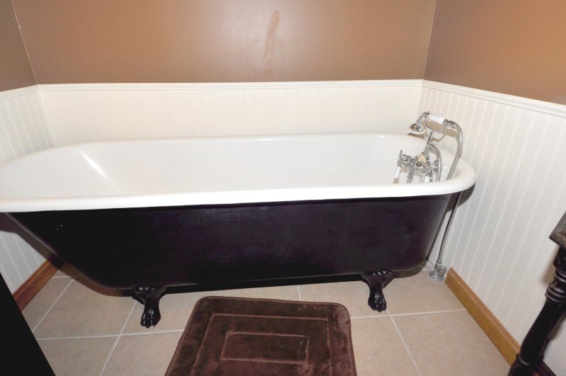Relax in the Claw Foot Tub