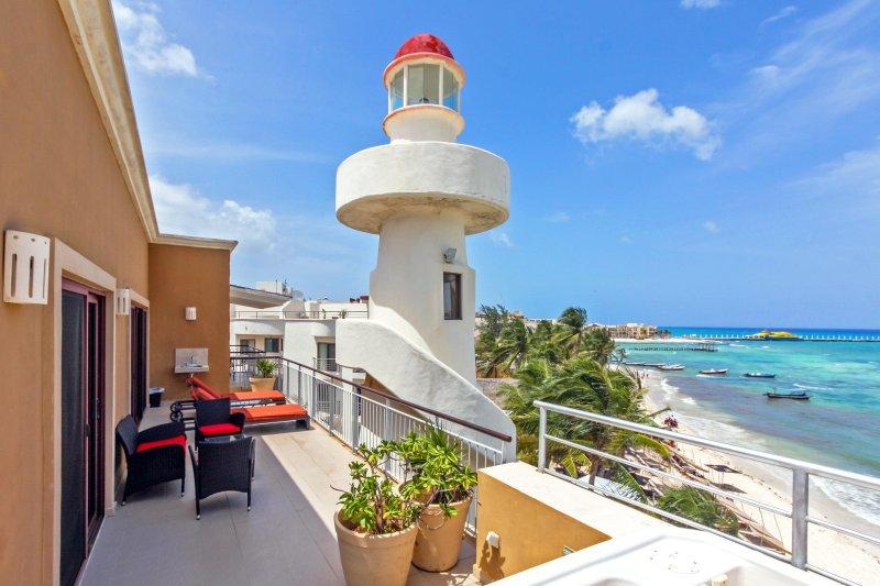 Su terraza privada del océano vista