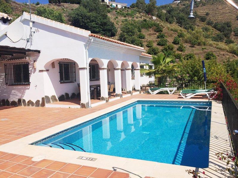La Viña con piscina privada, Cómpeta Málaga, vacation rental in Competa
