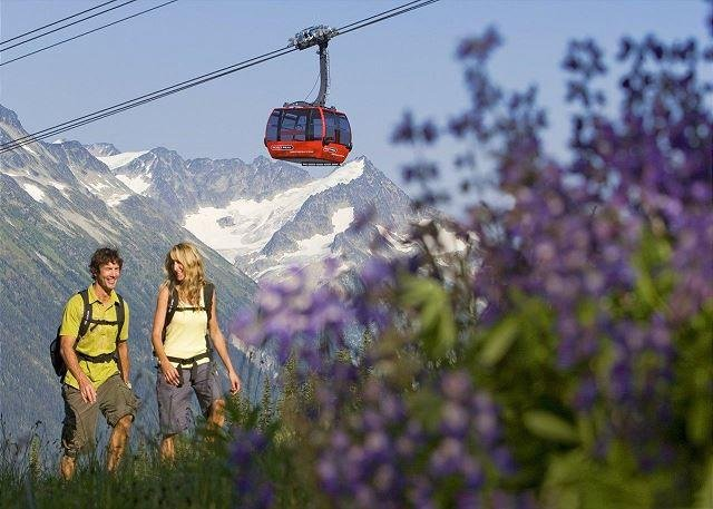 Locals will tell you that Whistler is even better in the summer.