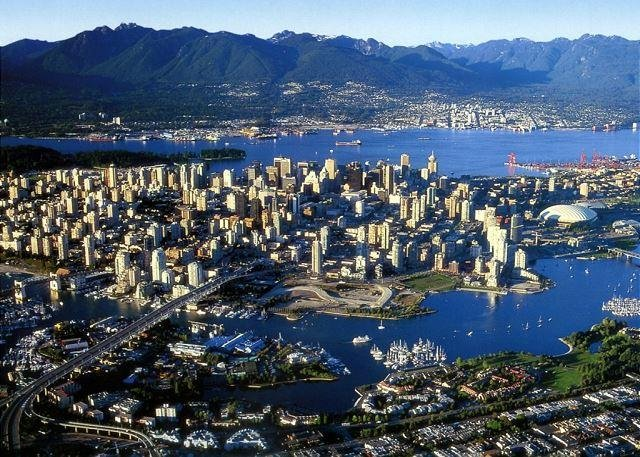 Vancouver is a short two hour scenic drive to Whistler