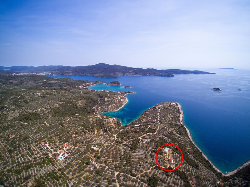 Isolated stone house/vacation house island korcula, vacation rental in Vela Luka