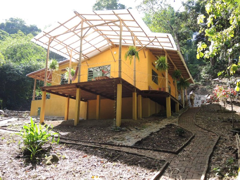 Finca Hostal Bolivar - Casa Maracuya, holiday rental in Magdalena Department