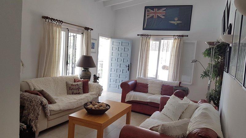 Confortable sala de estar