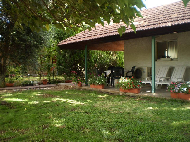 At Our Yard - Vacation Apartment in upper Galilee, holiday rental in Yesod Hamaala