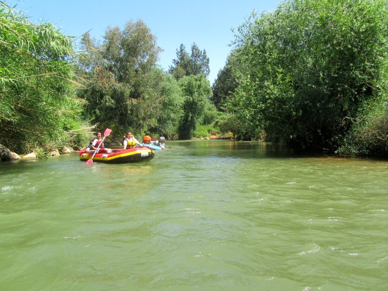 Kfar Blum Kayaks (Rafting). Suitable for all family from age 5